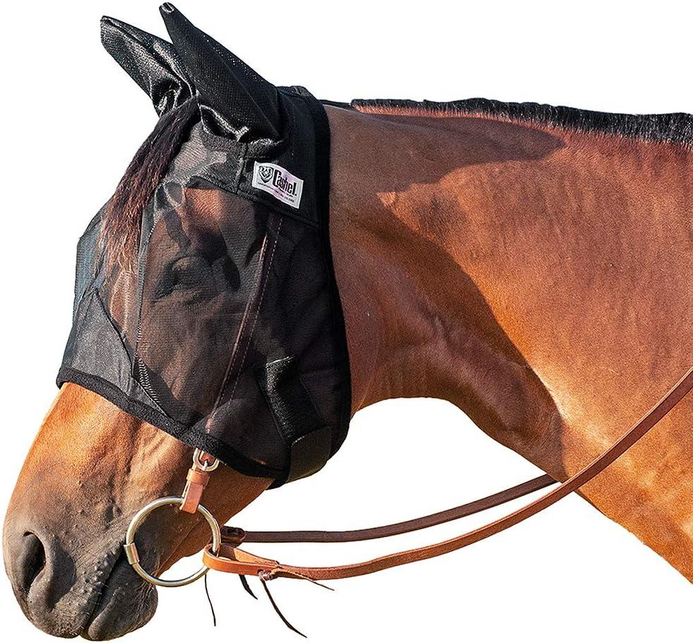 Cashel Quiet Ride Standard w//Ears Fly Mask