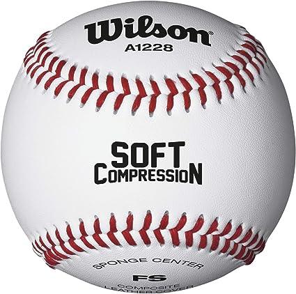 Wilson Minor League and Coach Pitch Play - Balón de béisbol (12 ...