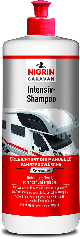 Nigrin 20123 Caravan Intensiv Shampoo Konzentrat 1 Liter Auto
