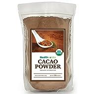 Healthworks Cacao Powder Certified Organic, 2lb