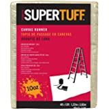 Trimaco 51127 SuperTuff Drop Cloth, 4' X 12', Tan