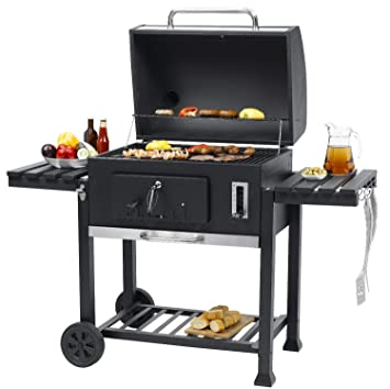 Tepro Toronto Xxl Grill Trolley Anthracite Black Stainless Steel