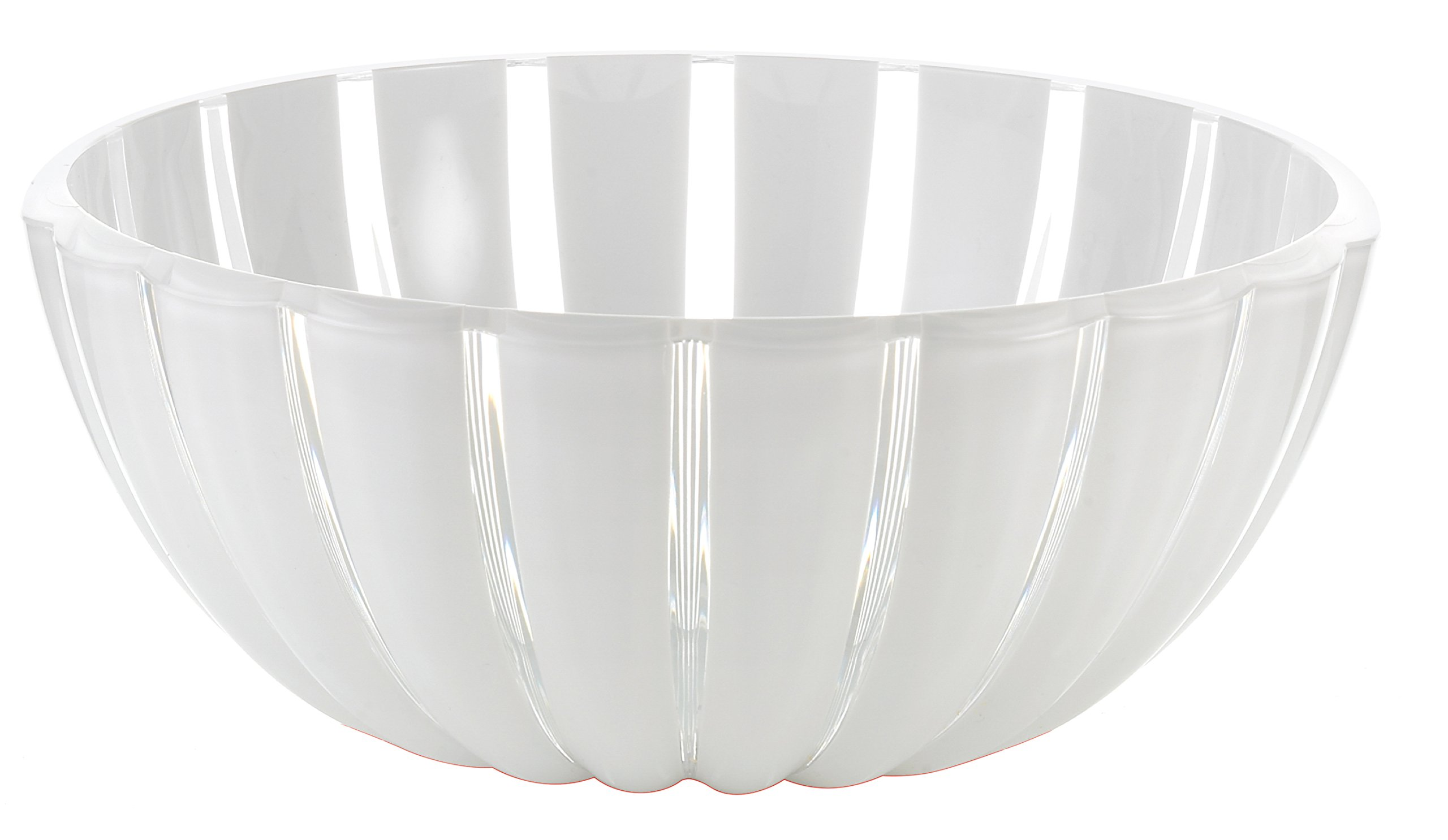 Guzzini Grace Transparent 3.2 Quart Large Bowl