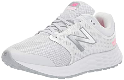 af690d526d207 New Balance Women's 1165v1 Fresh Foam Walking Shoe, Grey/White/Pink glo,
