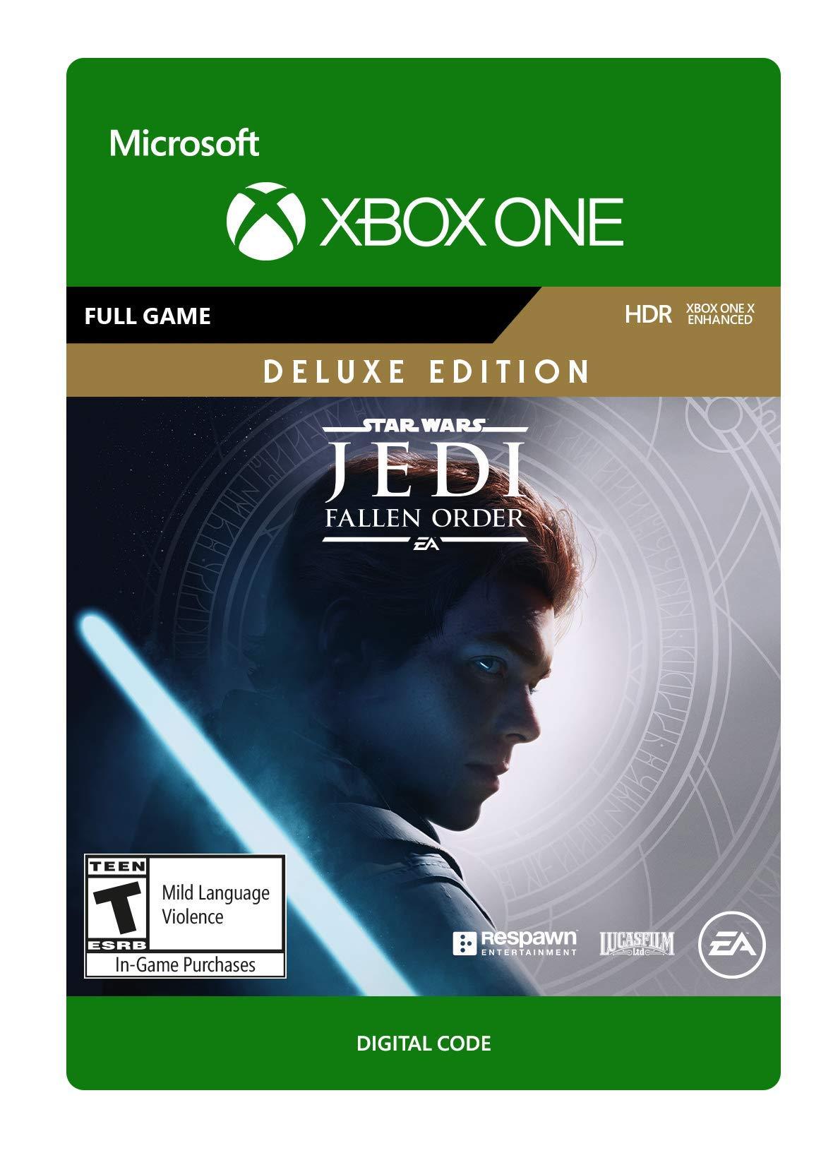 STAR WARS Jedi Fallen Order: Deluxe Edition - [Xbox One Digital Code]
