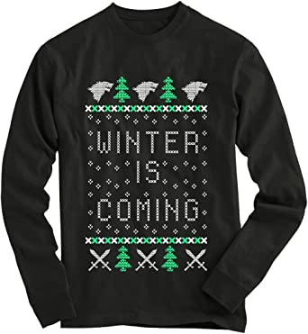 : Gnarly Tees Men's Game of Thrones Ugly Christmas