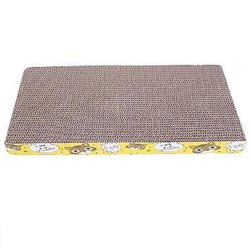 Everpert corrugado gato rascador tabla de doble cara Pad Mat garras cuidado juguete educativo: Amazon.es: Productos para mascotas