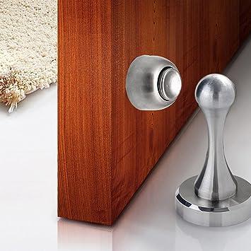 Oberseite der Tür Edelstahl-Magnet Türstopperwand Türschutzmaske ...
