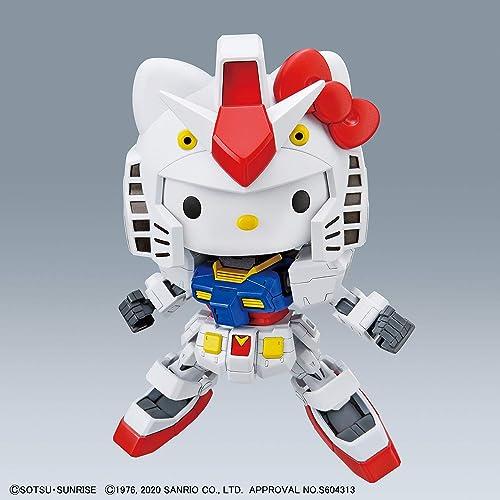 SDガンダムEXスタンダード ハローキティ/RX-78-2 ガンダム 色分け済みプラモデル
