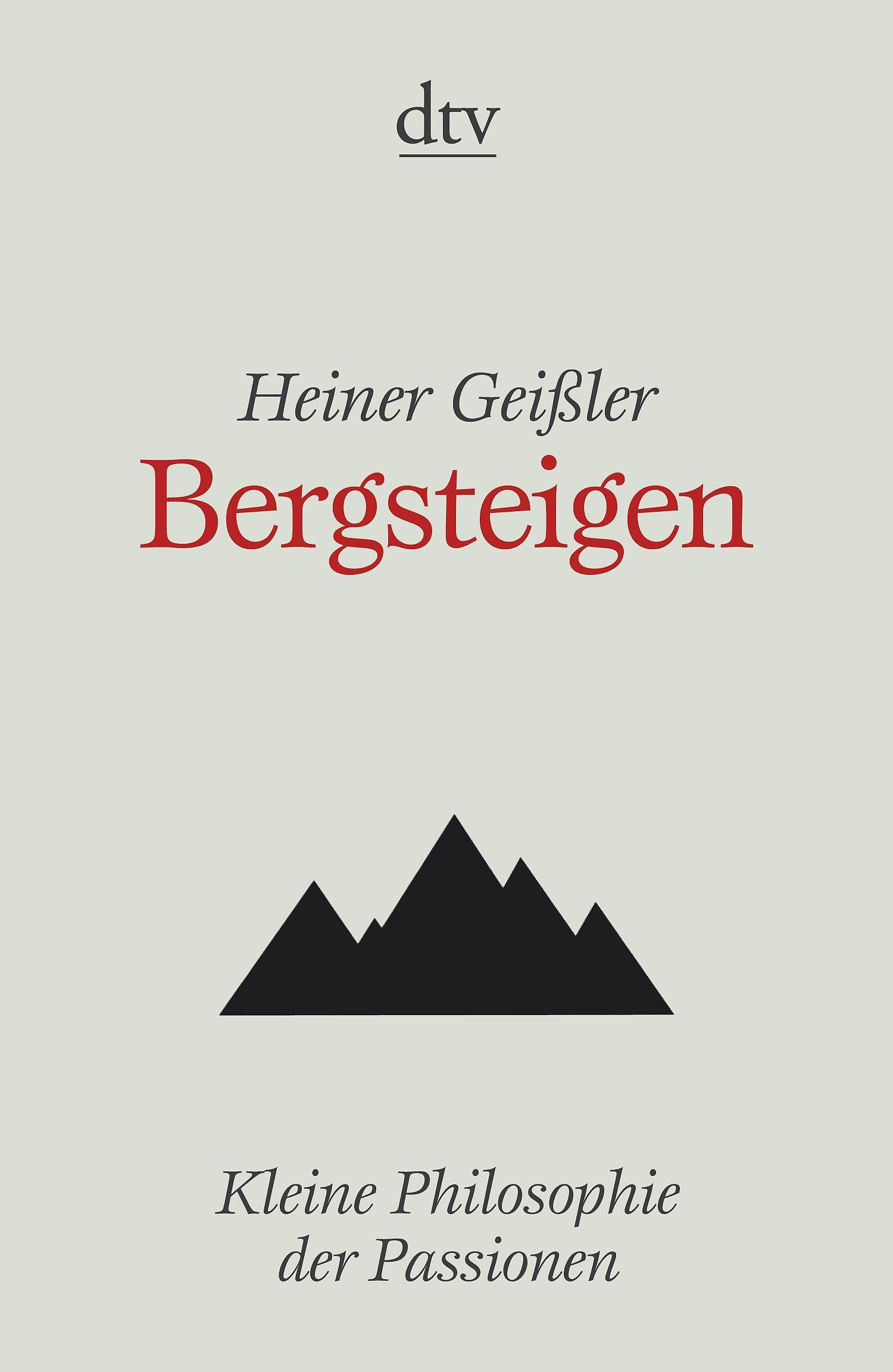 Bergsteigen (dtv Fortsetzungsnummer 50)