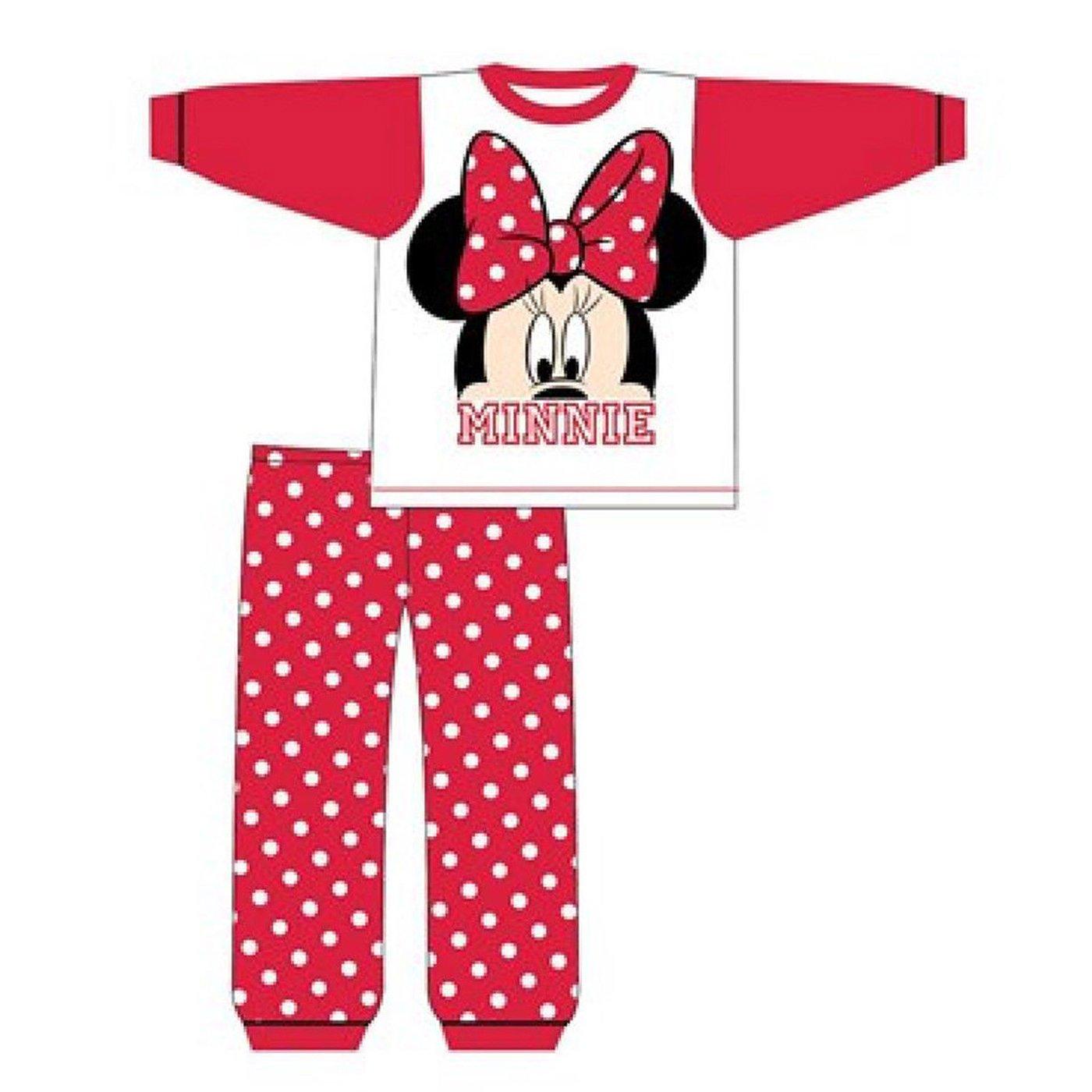 Baby Girl Disney Minnie Mouse Pyjamas Polka Dot 6 to 24 Months