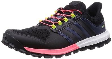 save off d9134 b67f8 adidas Adistar Raven Boost Womens Trail Running Shoes - AW15-6.5 - Black
