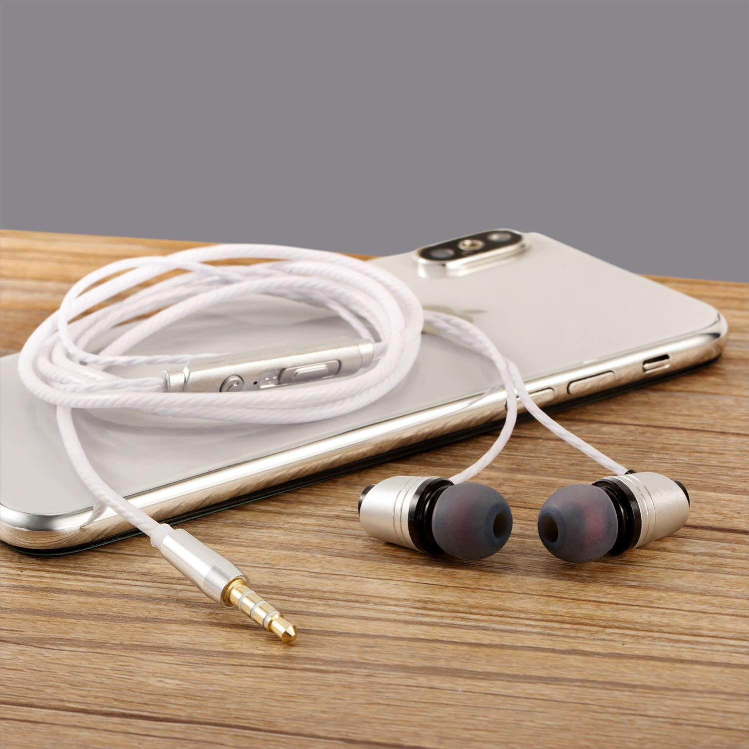 Wireless Bluetooth Headset Wireless Earbuds Sweatproof Sports Headphones with Charging Case Mini Size in-Ear Noise Earphon Phone Android Smart-10-26-5