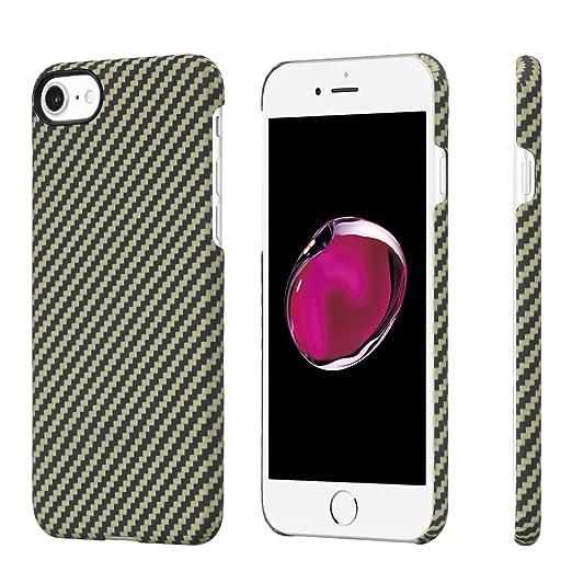 17 opinioni per PITAKA iPhone 7/iPhone 8 Premium Aramide (Bullet Proof materiale) Sottile Di