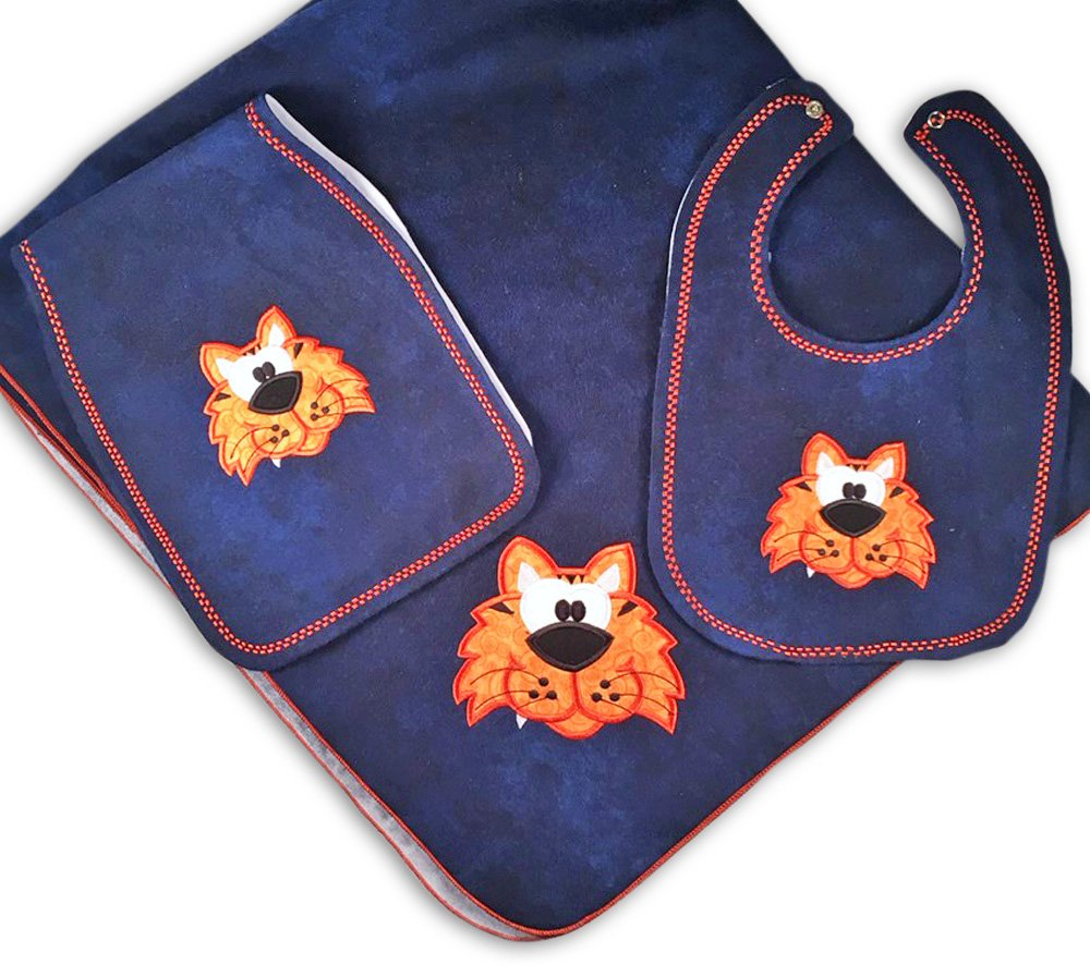 Gift For Baby Auburn Tigers Nursery Bundle