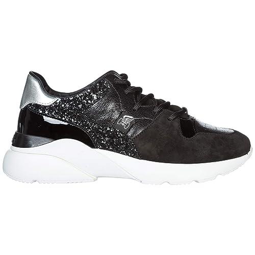 Hogan Active One Zapatillas Deportivas Mujer Nero: Amazon.es: Zapatos y complementos