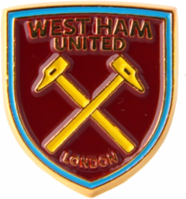 West Ham United FC Fu/ßball Wappen Anstecknadel