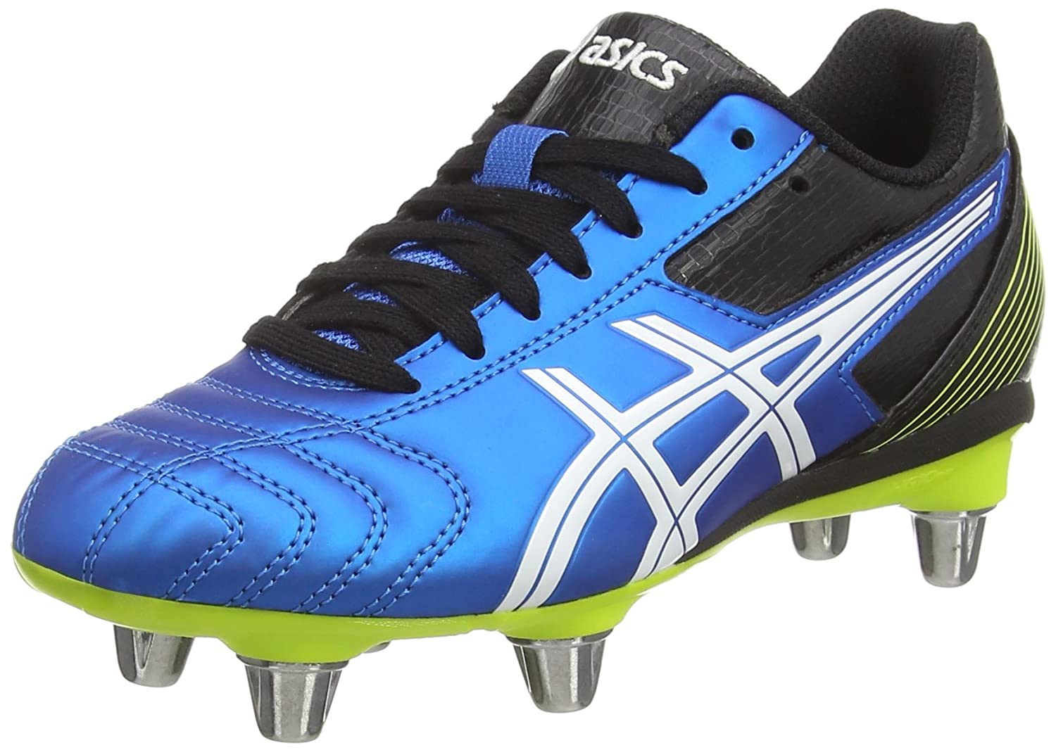 52e610a0ab ASICS Lethal Tackle Gs, Unisex Kids' Rugby Shoes, Blue (Electric ...
