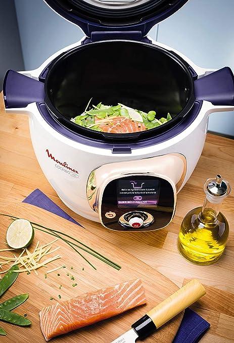 Moulinex CE704110 Cookeo - Robot de Cocina, alta Presión, 6 Modos Cocción, Programable, 100 Recetas Programadas y Bol Extraíble Antiadherente con Capacidad hasta 6 Raciones y Fácil Interfaz: Amazon.es: Hogar