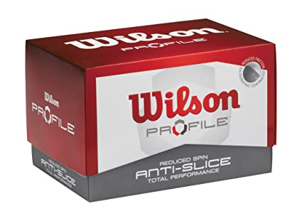 Amazon.com: Wilson Profile anti-slice pelotas de golf ...