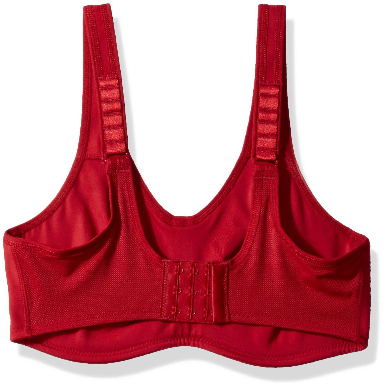 Wacoal Women's Plus Size Sport Underwire Bra, Carnivale Red by Wacoal (Image #2)
