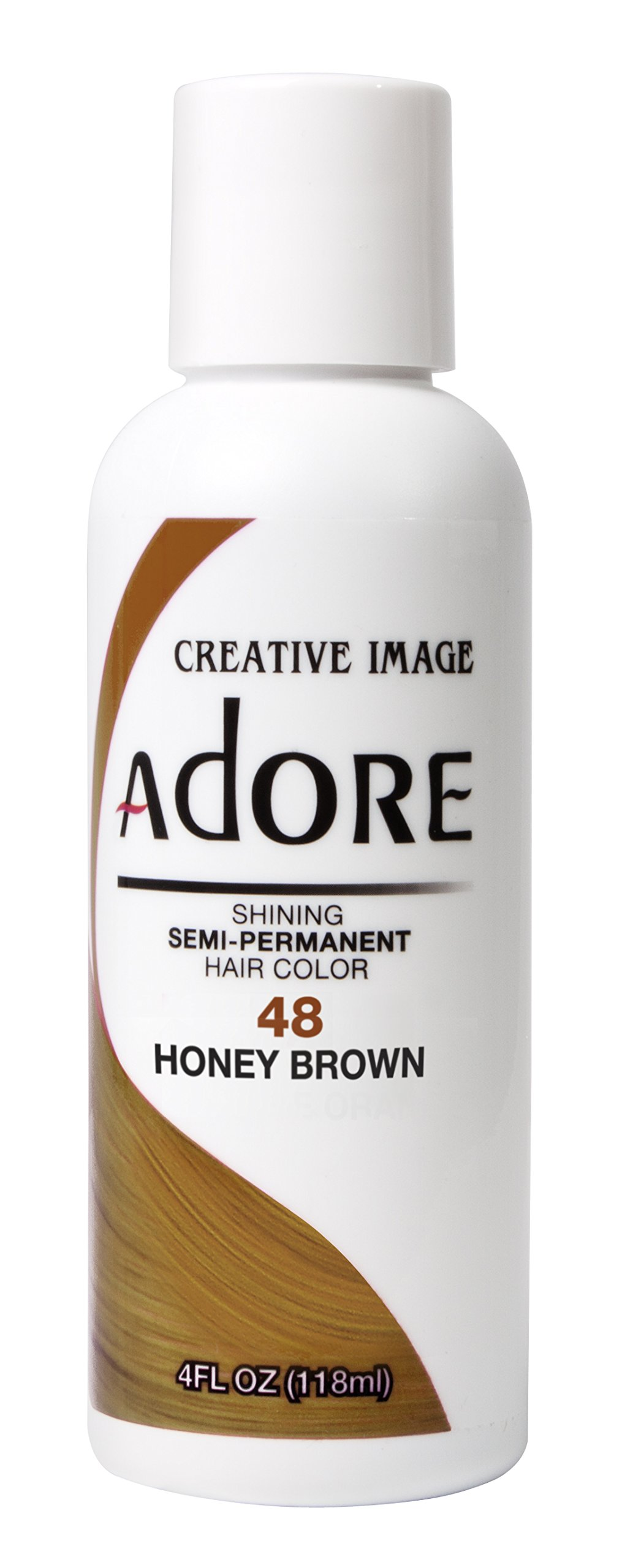 Adore Shining Semi Permanent Hair Colour, 48 Honey Brown by Adore