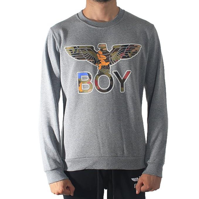 Boy London - Sudadera - para hombre gris M : Amazon.es: Ropa y accesorios