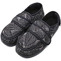 MEJORMEN Women's Diabetic Edema Shoes with Adjustable Strap Closures Swollen Feet Arthritis Wide Nonslip Slippers Orthopedic Footwear Relief for Elderly Woman Indoor Outdoor
