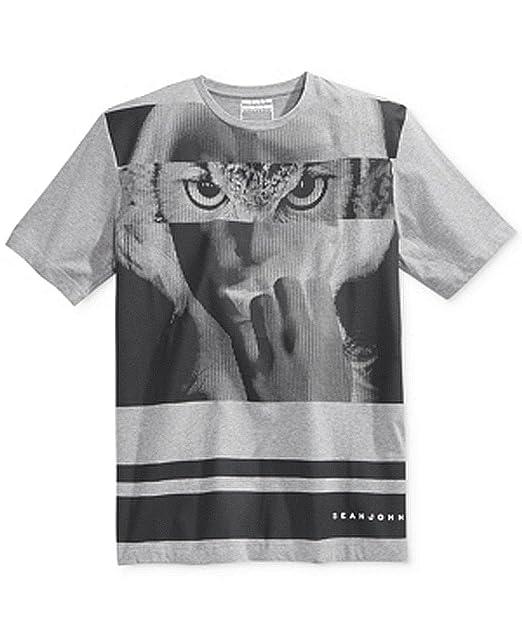 6f4417d80f6 Amazon.com  Sean John Men s Big and Tall Short Sleeve Nocturnal T-Shirt   Clothing