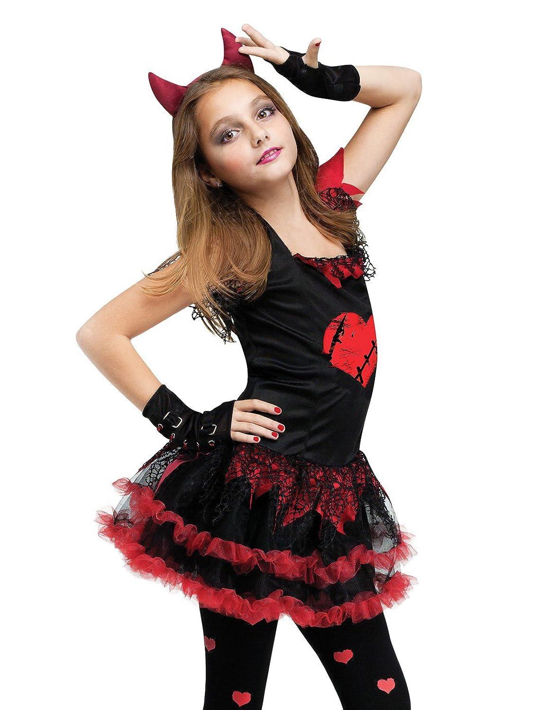 Amazon.com: Fun World Kids Devil Diva Costume: Toys & Games