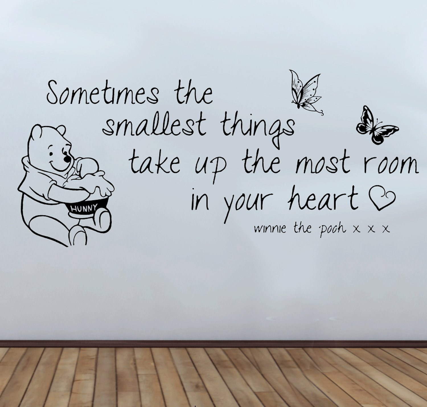 Winnie The Pooh Wall Quote Decal Sticker Large 58 Cm X 125cm: Amazon.co.uk:  Kitchen U0026 Home Part 70