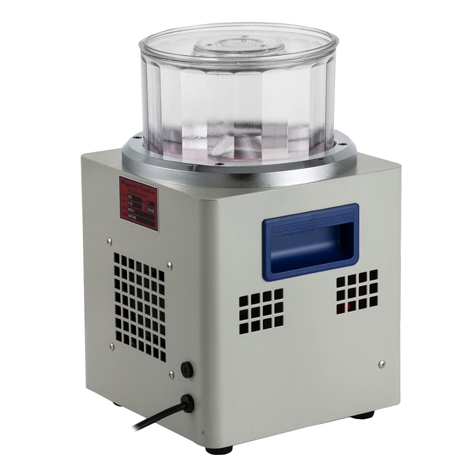 185mm Happybuy Magnetic Tumbler 180mm Jewelry Polisher Tumbler 2000 RPM KT-185 Jewelry Polisher Finisher with Adjustable Speed for Jewelry