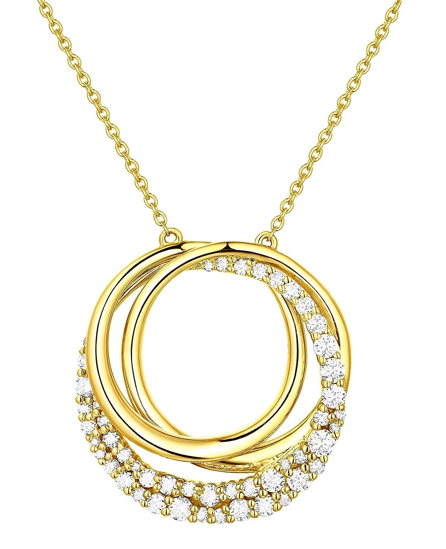 Amazoncom Prism Jewel 050Ct GHSI1 Natural Diamond Designer