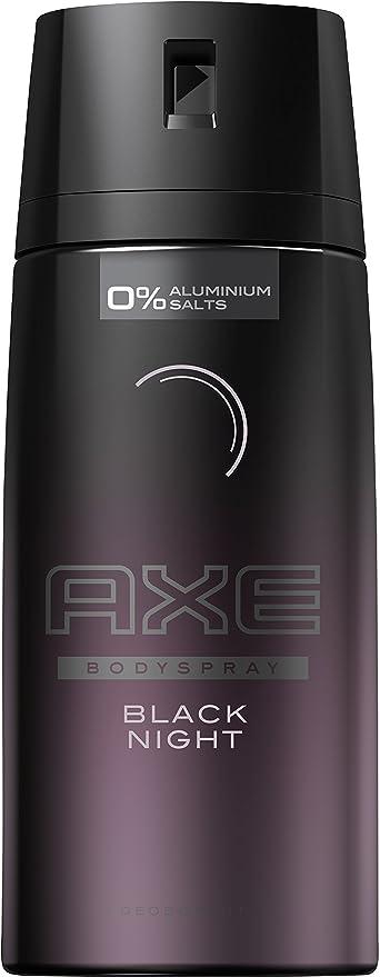 Axe Black Night Deodorante - Paquete de 6 x 150 ml - Total: 900 ml