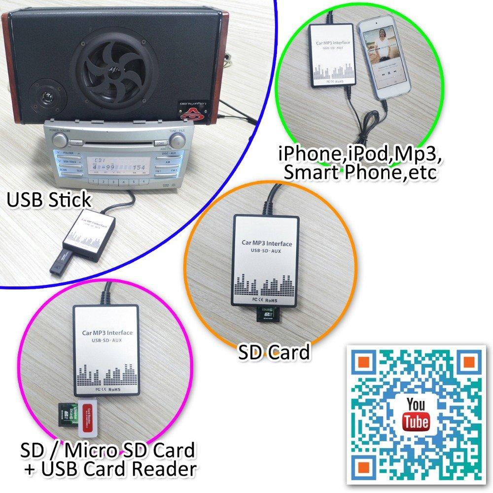 DOXINGYE New Usb Sd Aux Car MP3 Adapte CD Change For Suzuki Aerio ...