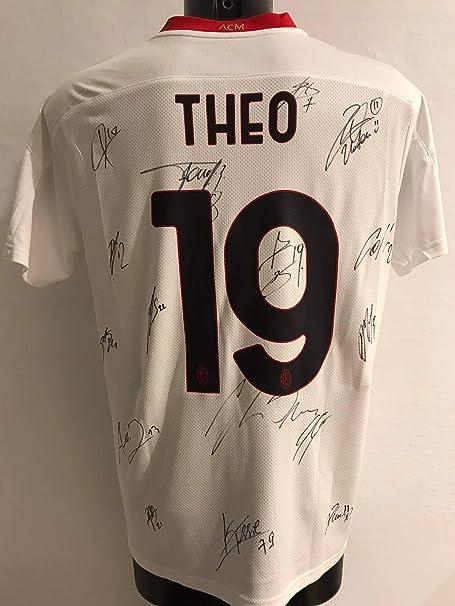 """MAESTRI DEL CALCIO Maglia Gara Away """"Theo 19"""" Autografata A.C. ..."""