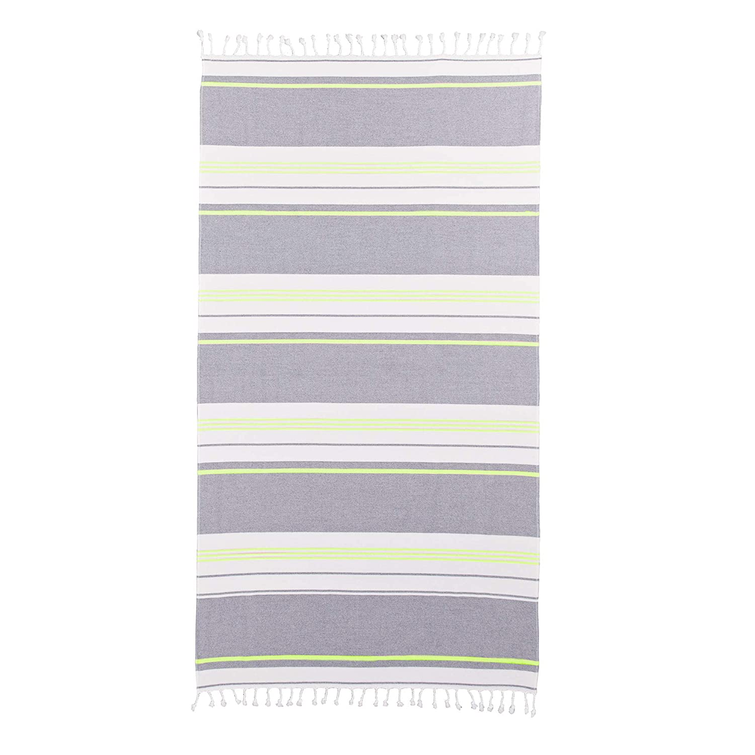 The Splendid Home Turkish Yarn Dyed Stripe Beach Towel travel product recommended by Jules Barker on Lifney.
