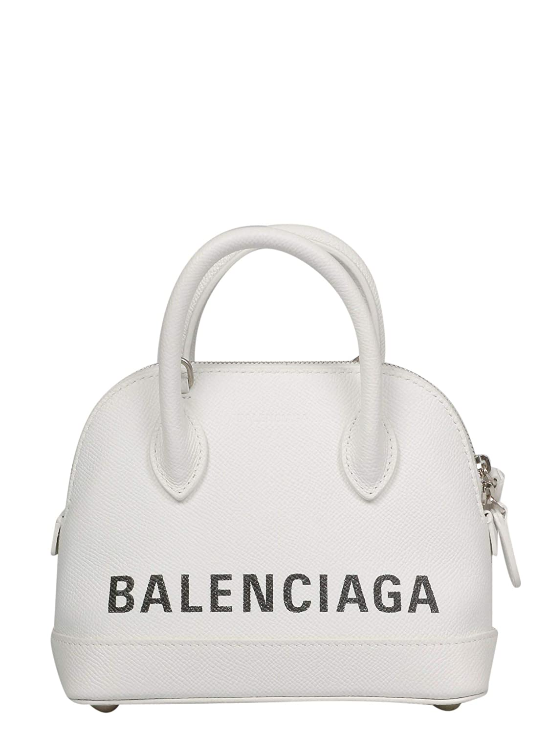 - Balenciaga Women's 5506460OTII9000 White Leather Handbag
