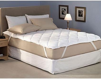 RRC Cotton Waterproof Mattress Protector - King Size, White - 72