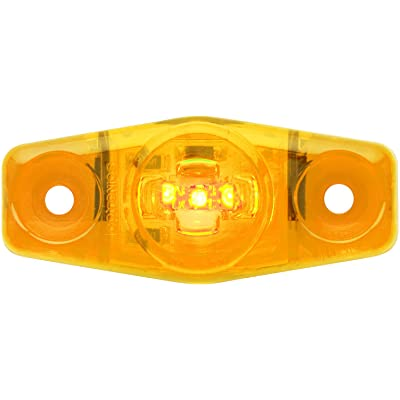 Optronics MCL14ABP MCL14 Series Mini LED Marker/Clearance Light, Horizontal-Vertical, Amber: Automotive