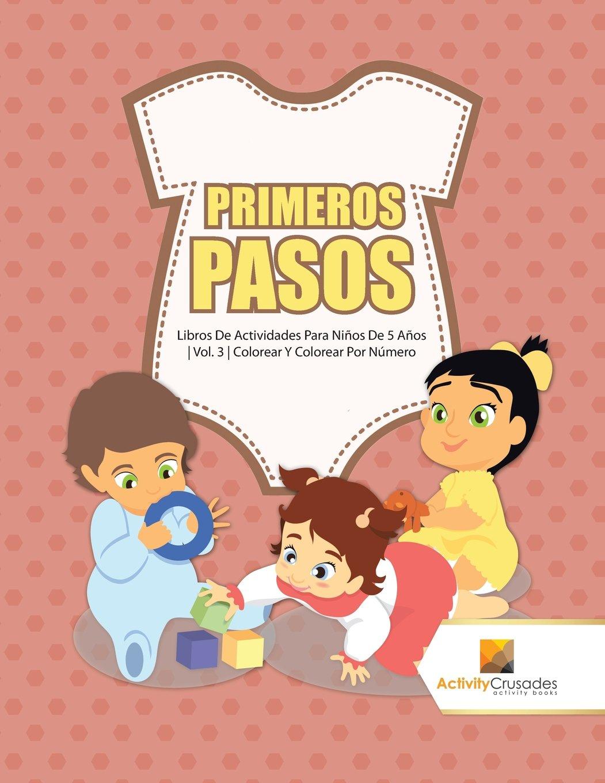 Primeros Pasos : Libros De Actividades Para Niños De 5 Años ...