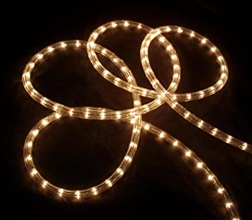Amazon.com: Sienna Clear Indoor/Outdoor Christmas Rope Lights, 18 ...