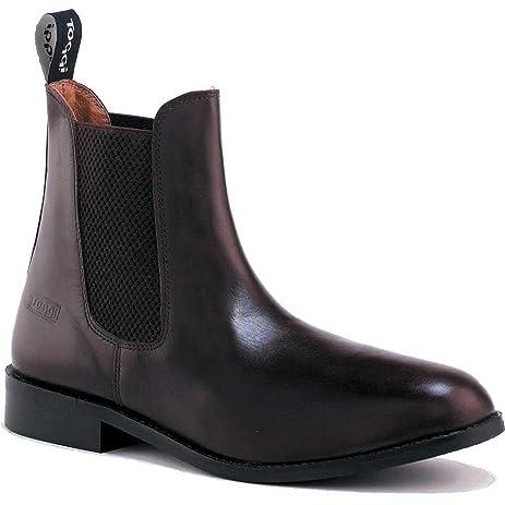 Toggi Ottowa Classic Leather Short Riding Boot Brown  Womens US 10 Mens US  85