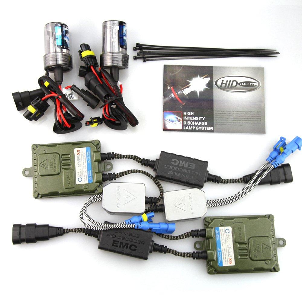 H7 Canbus Xenon HID Kit Ampoule 8000K 12V 55W