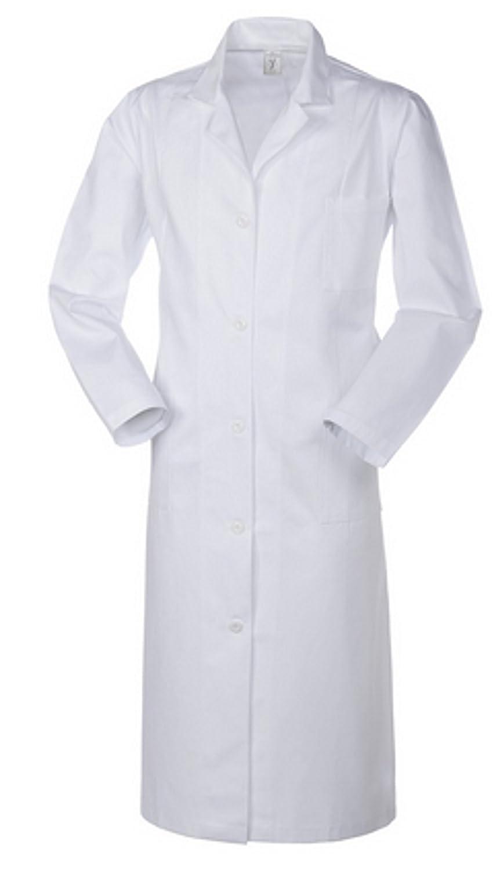 Angiolina Camice Classico Lungo da Donna Bianco Medico Farmacia Dottore A63101