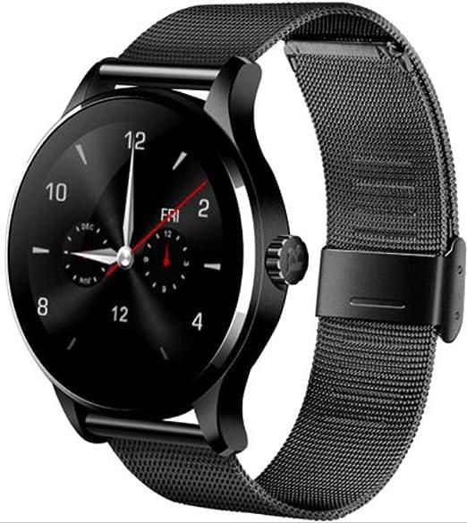 ... Resistente al Agua Reloj Inteligente para teléfonos móviles Sport Fitness Tracker Android, iOS Teléfono Samsung Huawei Sony Mujeres Hombres: Amazon.es: ...