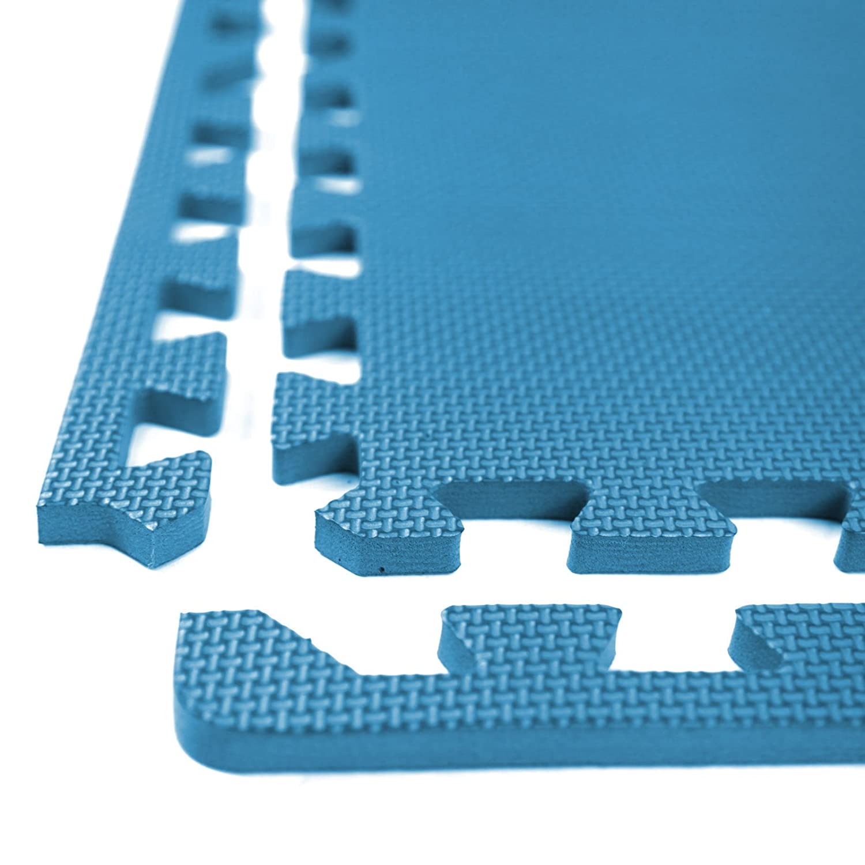 IncStores Exercise Tiles 2ft x 2ft Portable Interlocking Foam Tile Mats