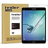 Samsung Galaxy Tab S2 8.0'' (SM-T710 / SM-T715) Pellicola Protettiva, iVoler® Pellicola Protettiva in Vetro Temperato per Samsung Galaxy Tab S2 8.0'' (SM-T710 / SM-T715) - Vetro con Durezza 9H, Spessore di 0,3 mm,Bordi Arrotondati da 2,5D-Shockproof, Trasparenza ad alta definizione, Facile da installare- Garanzia a vita