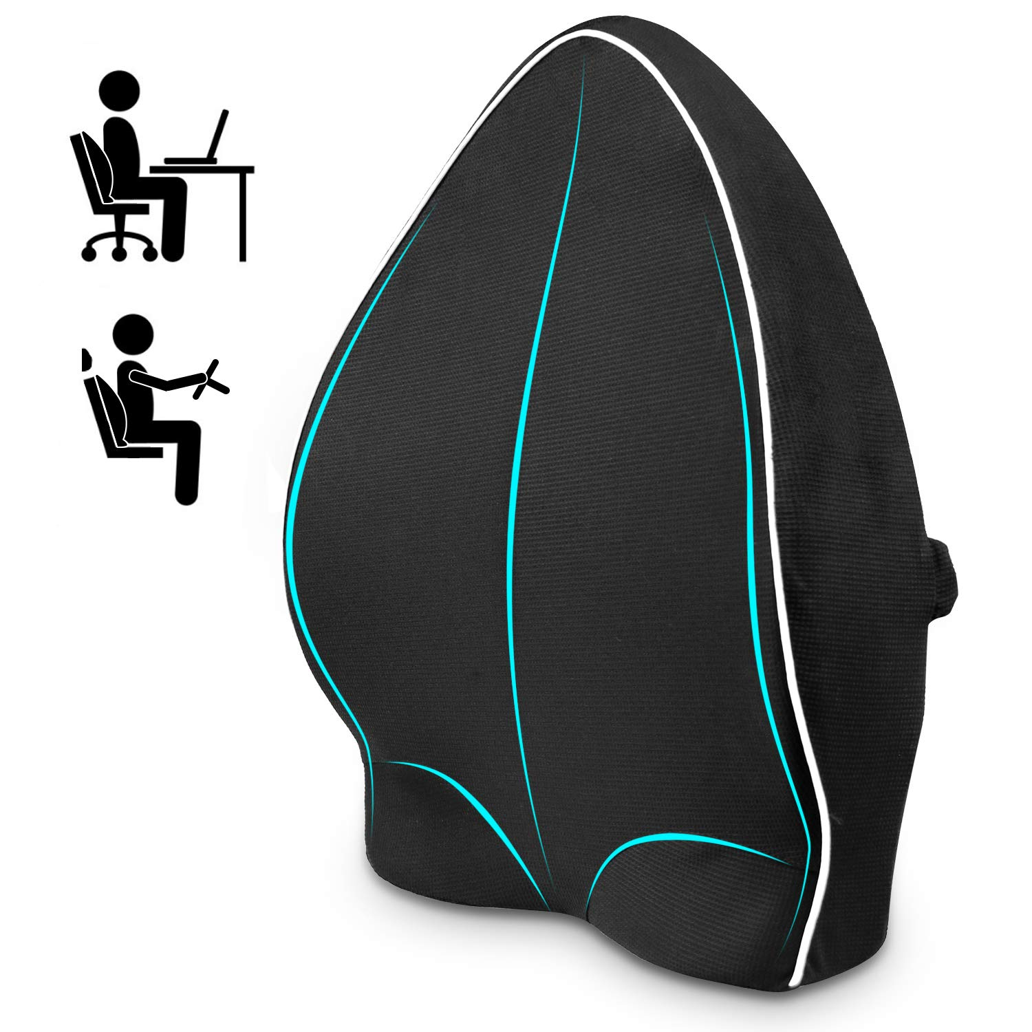 best lumbar support cushion for car