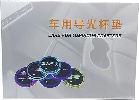 Smd 2 Led Untersetzer Für Autos Kompatibel Mit R Racing 7 Farbwechselmodi Auto